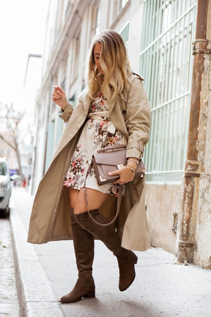 look trench beige parisgrenoble