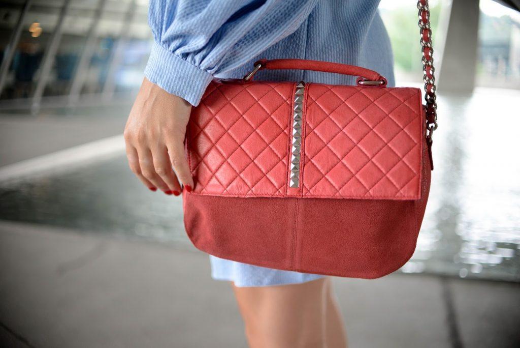 sac cuir rouge pieces parisgrenoble parisgrenoble