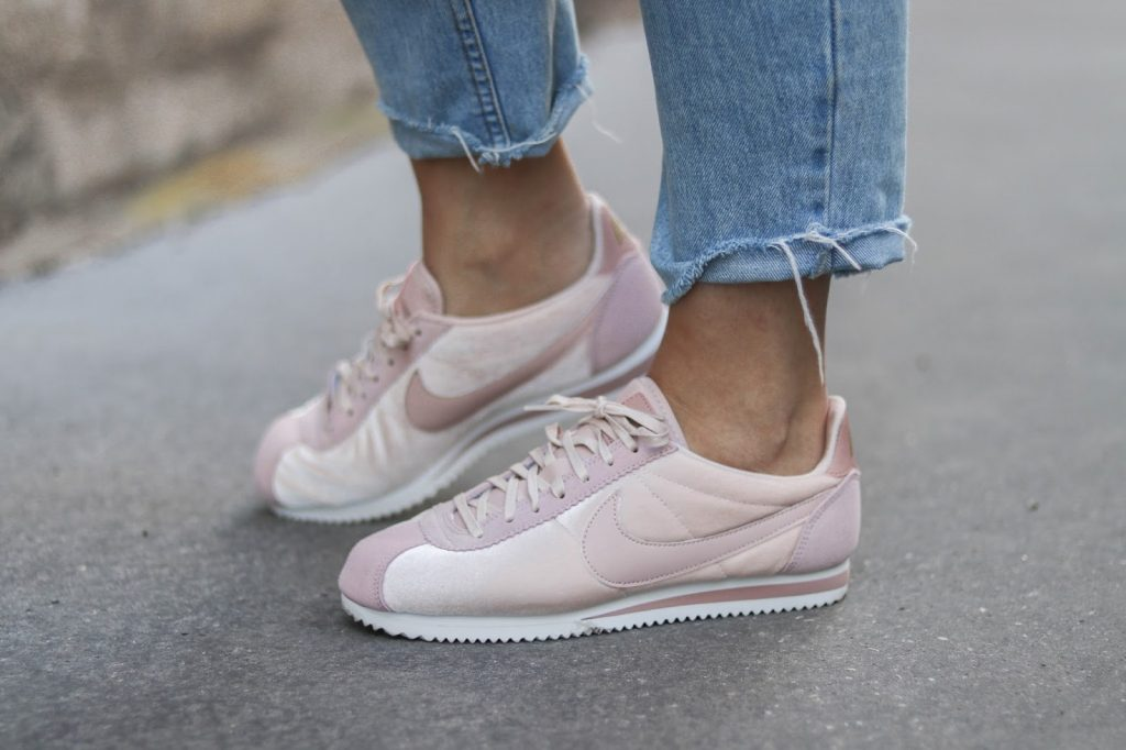 nike cortez velours rose parisgrenoble