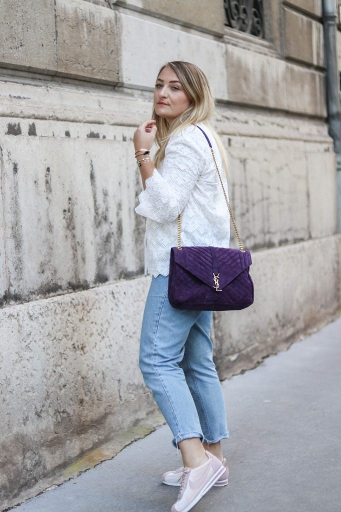 sac violet saint laurent parisgrenoble