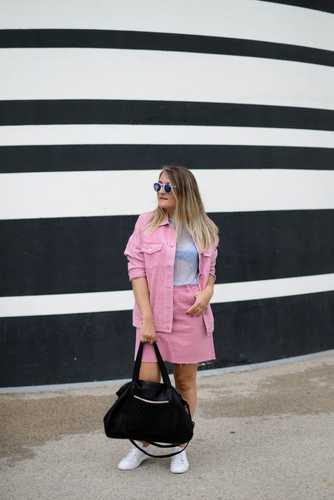 veste jean oversize rose parisgrenoble