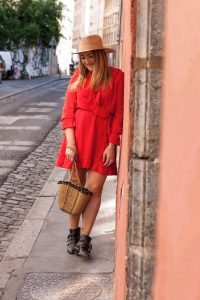 robe rouge parisgrenoble
