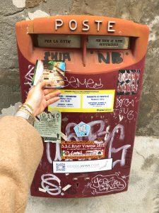 écrire une carte postale à venise parisgrenoble