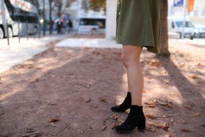 boots daim noir Betty london parisgrenoble