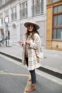 manteau à carreaux promod parisgrenoble