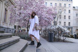 robe zara blanche parisgrenoble