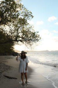 robe blanche billabong x sincerely jules parisgrenoble