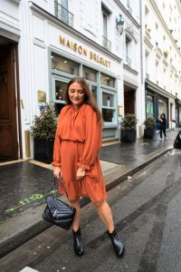 robe laredoute orange parisgrenoble