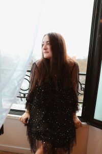 robe tulle noire pretty wire parisgrenoble