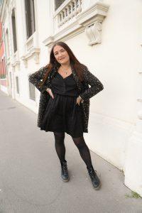 robe noir leopard parisgrenoble