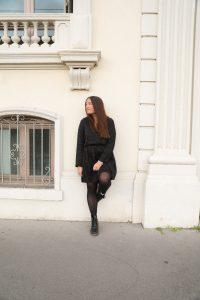 almé paris robe noire parisgrenoble