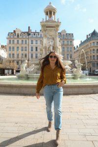blouse kaki promod parisgrenoble