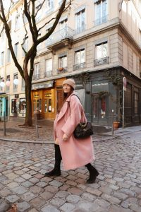 manteau rose oversize h&m parisgrenoble