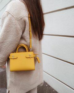 sac jaune le tanneur parisgrenoble