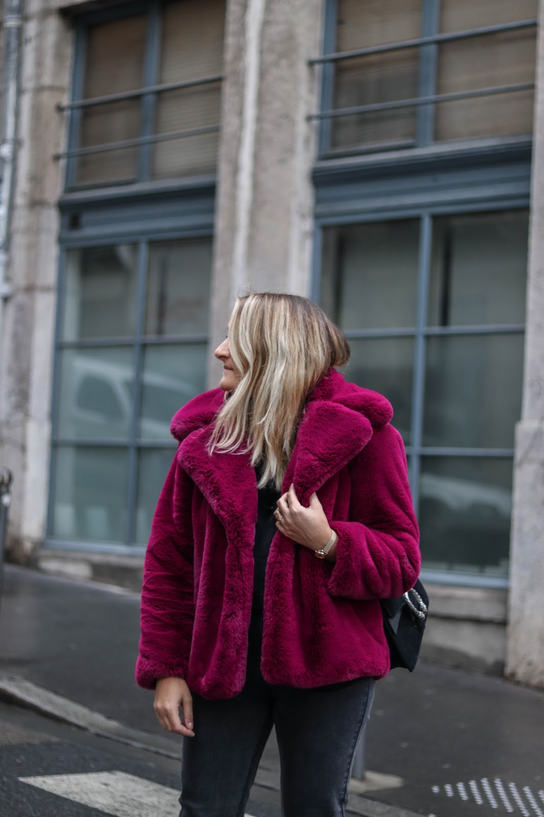 faux fur mango parisgrenoble