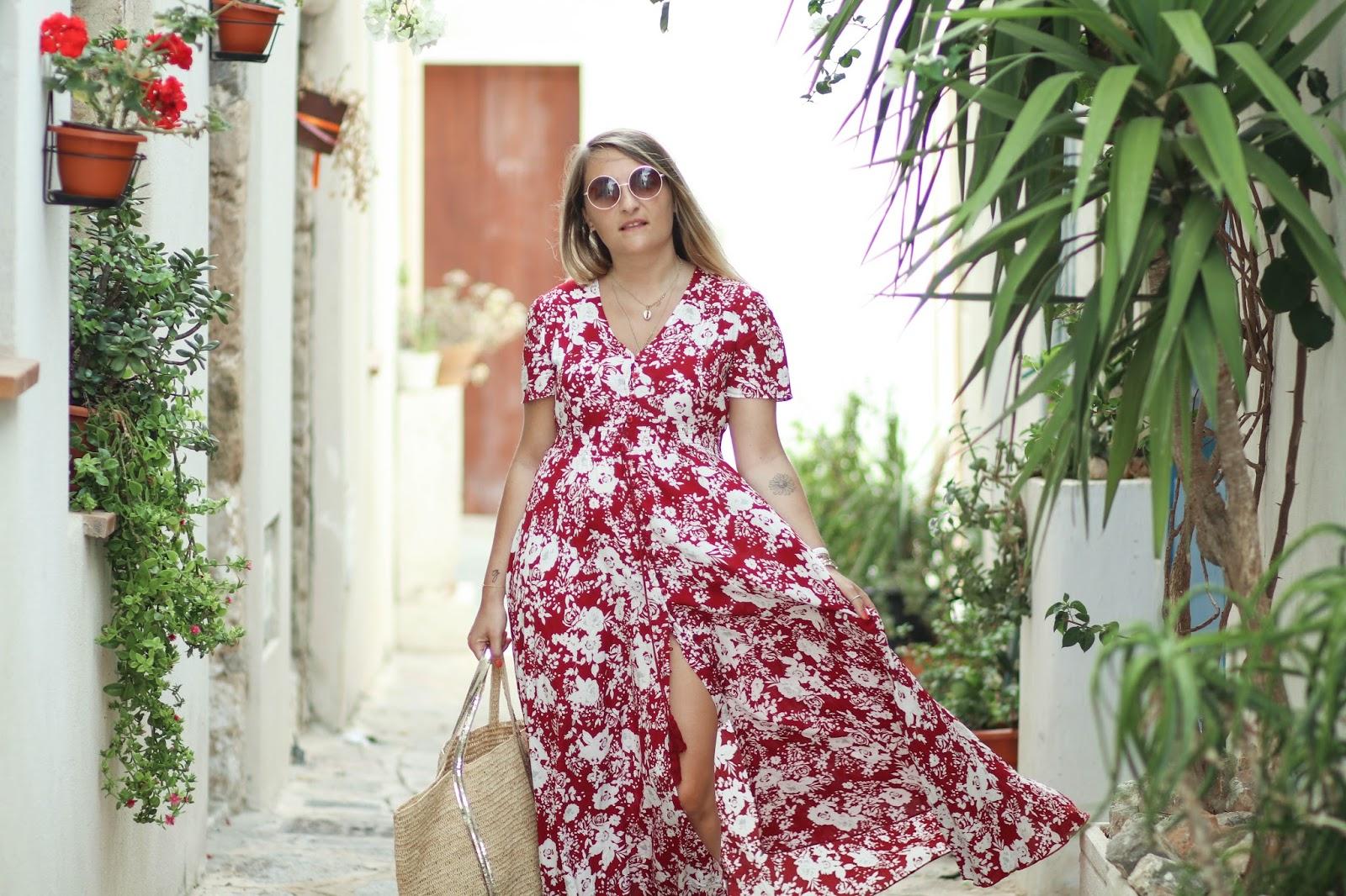 robe longue shein