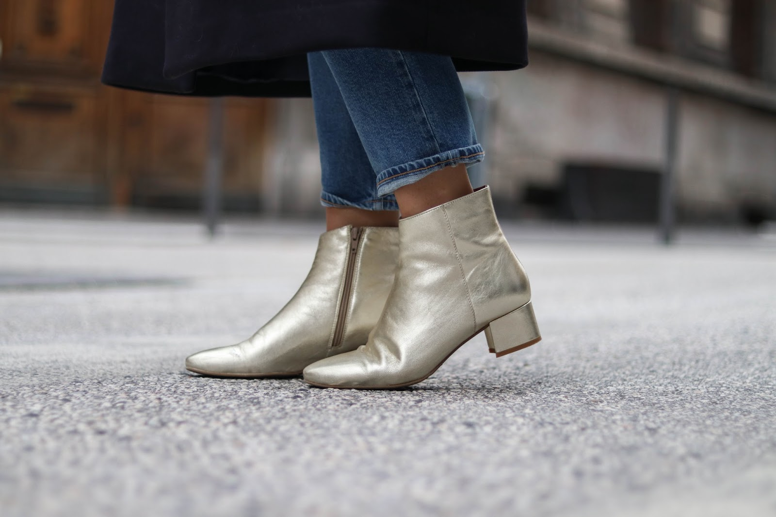boots dorées eram parisgrenoble